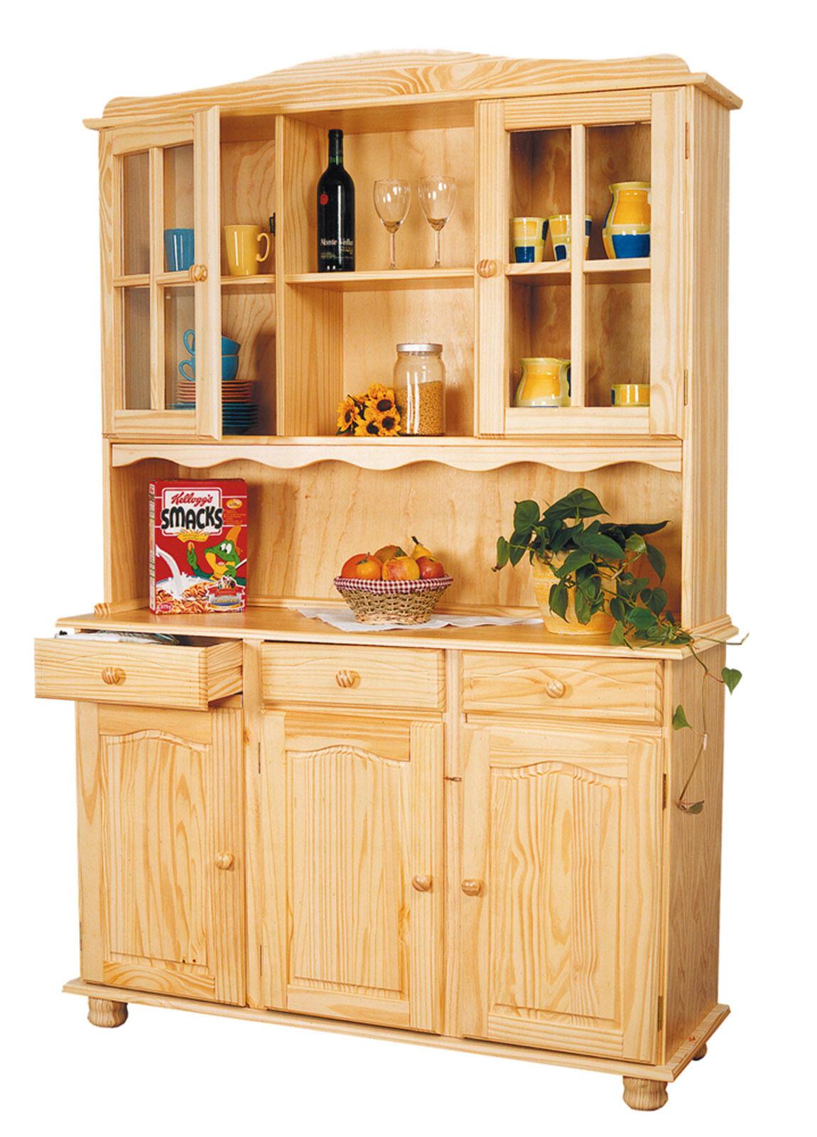 Vaisselier bahut buffet commode rangement meuble cuisine - Buffet rangement cuisine ...