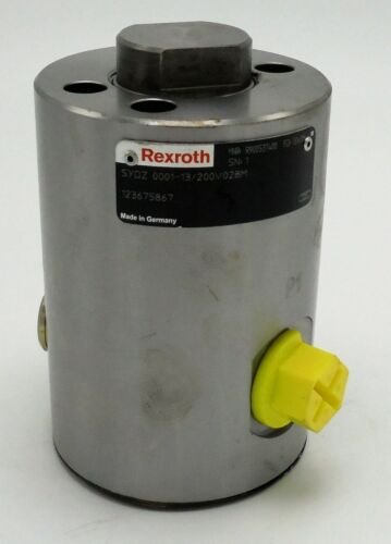 REXROTH SYDZ 0001-1X/200V028M PUMP PRE LOAD VALVE FOR SYDFE CONTROL SYSTEMS