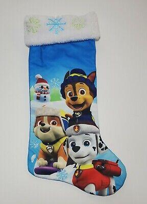 Nickelodeon's Paw Patrol Christmas Stocking, Holiday, Satin Kids Christmas