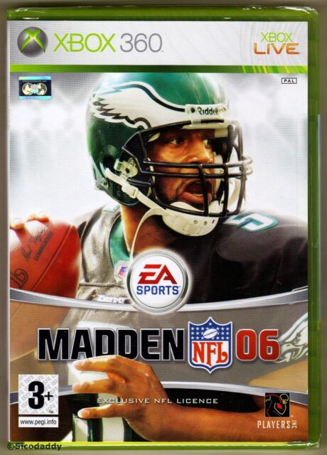 Xbox 360 Madden NFL 06, UK Pal, Brand New & Factory Sealed