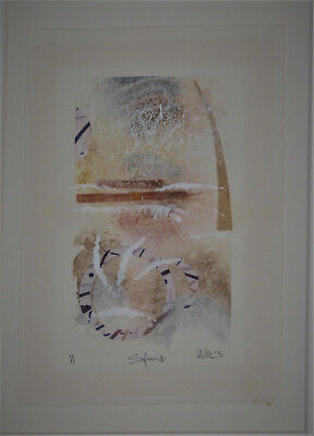Helle Hamilton Mixed Media Art Framed Signed Limited Edition Collage