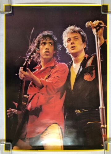 THE CLASH 1978 Big O Personality POSTER UK Mick JONES Joe STRUMMER Minty! PUNK
