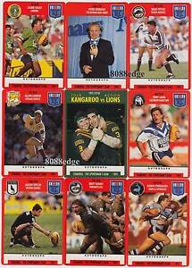 1991 Rugby League NRL Stimorol Collector Trading Cards Lalor Park Blacktown Area Preview