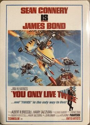 2017 James Bond Archives M5 Metal Poster Card 052/100 You only live twice