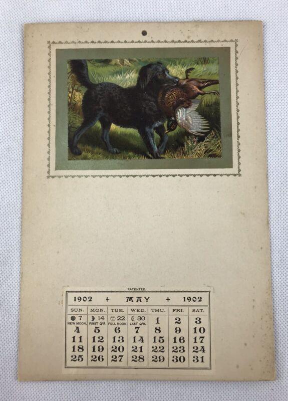 1902 Calendar Patented.