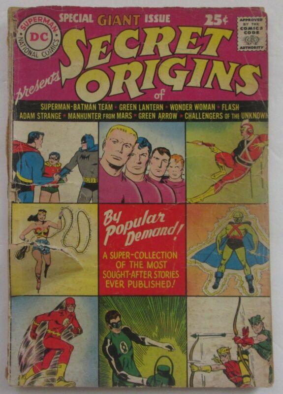 Secret Origins #1 (1961).