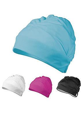 AQUA COMFORT CAP AQUA SPHERE Pink Turquoise Black LONG HAIR SWIMMING CAP SWIM Aqua Sphere Swim Cap