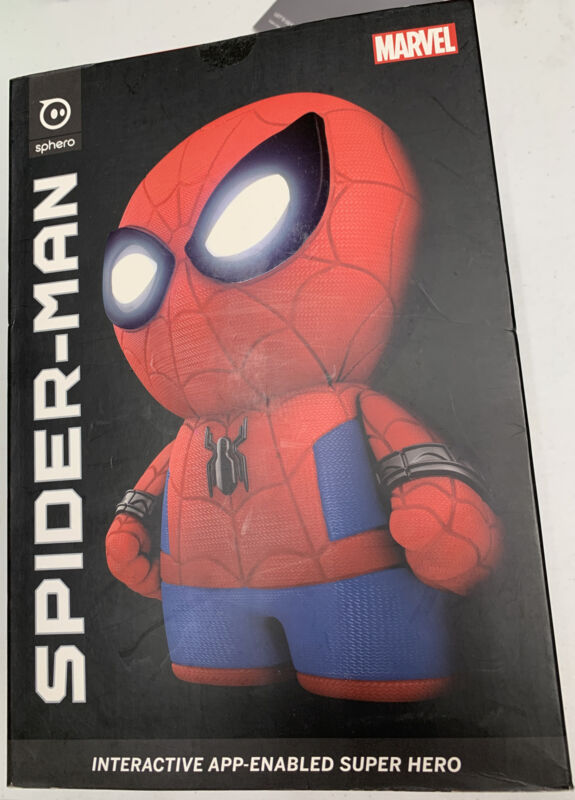 Sphero Spider Man App Enabled Interactive Super Hero  SP001 New In Box