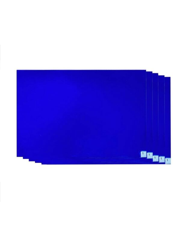 18x24 Sticky Mats for Construction Clean-Room Factory Lab Hospital School 5 Blue