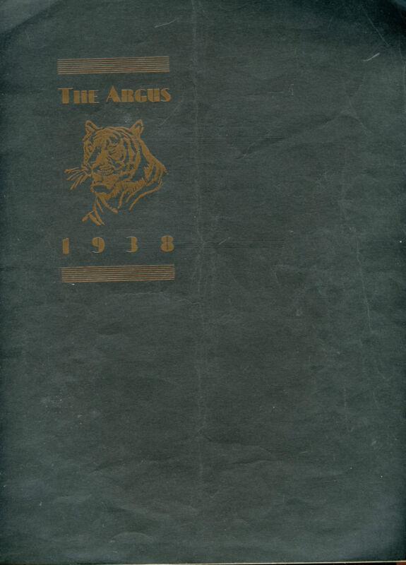 1938 Sterling Colorado High School Yearbook