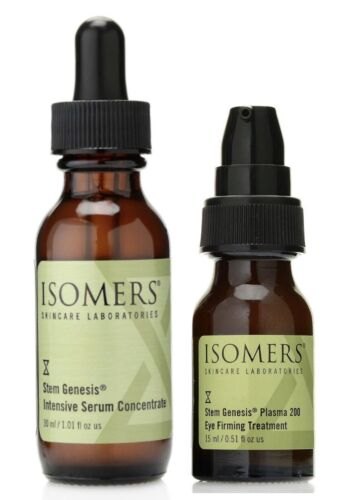 Isomers Stem Genesis Intensive Serum Concentrate & Plasma 200 Eye Treatment Duo