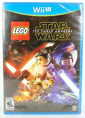 Lego Star Wars The Force Awakens Nintendo Wii U Video Game (2016) New