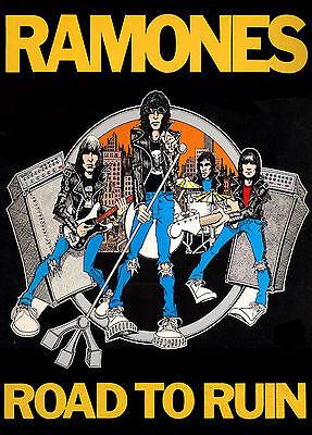 "Ramones Road to Ruin Album Cover Poster UK Import  23.5"" x 33"""