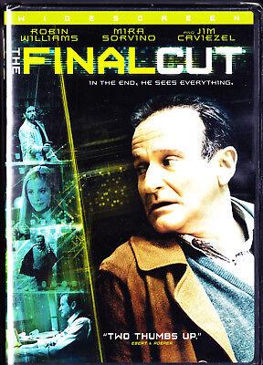 New Final Cut - The Final Cut (DVD, 2005) Robin Williams, New Free Shipping