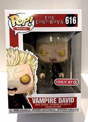 Funko Pop! The Lost Boys Vampire David #616 & Protector -- Target ---> FAST - Boy Vampire