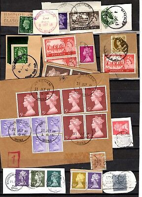 GB  mostly on paper - postmark interest to £3
