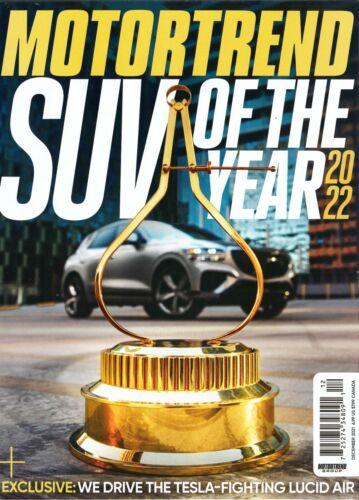 Motor Trend   Magazine - December 2021  -  SUV of the Year 2022