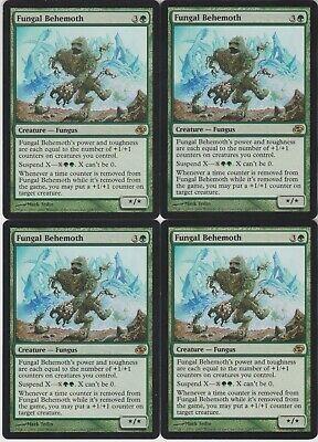4 PLAYED Fungal Behemoth Green Planar Chaos Mtg Magic Rare 4x x4