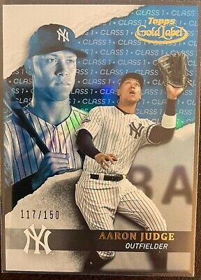 Aaron Judge 2020 Topps Gold Label Card Blue #'d/150 New York Yankees MLB