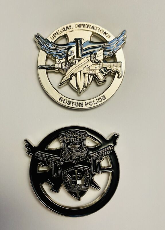 Boston Police SWAT coin