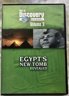 Best Of Discovery Channel Volume 3  Egypts New Tomb Revealed Dvd Hard To Find