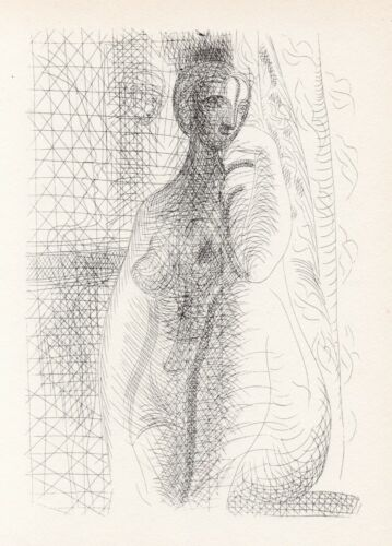 Pablo Picasso, Nude Woman with Bent Leg, Vollard Suite