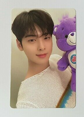 ASTRO CHA EUNWOO ALL YOURS PHOTOCARD (ME VER. #1) Free tracking number