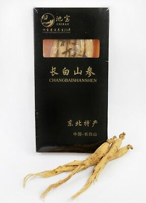 30g Changbai Mountain Chinese Ginseng Root Dried Gift Boxed Set - ships from -