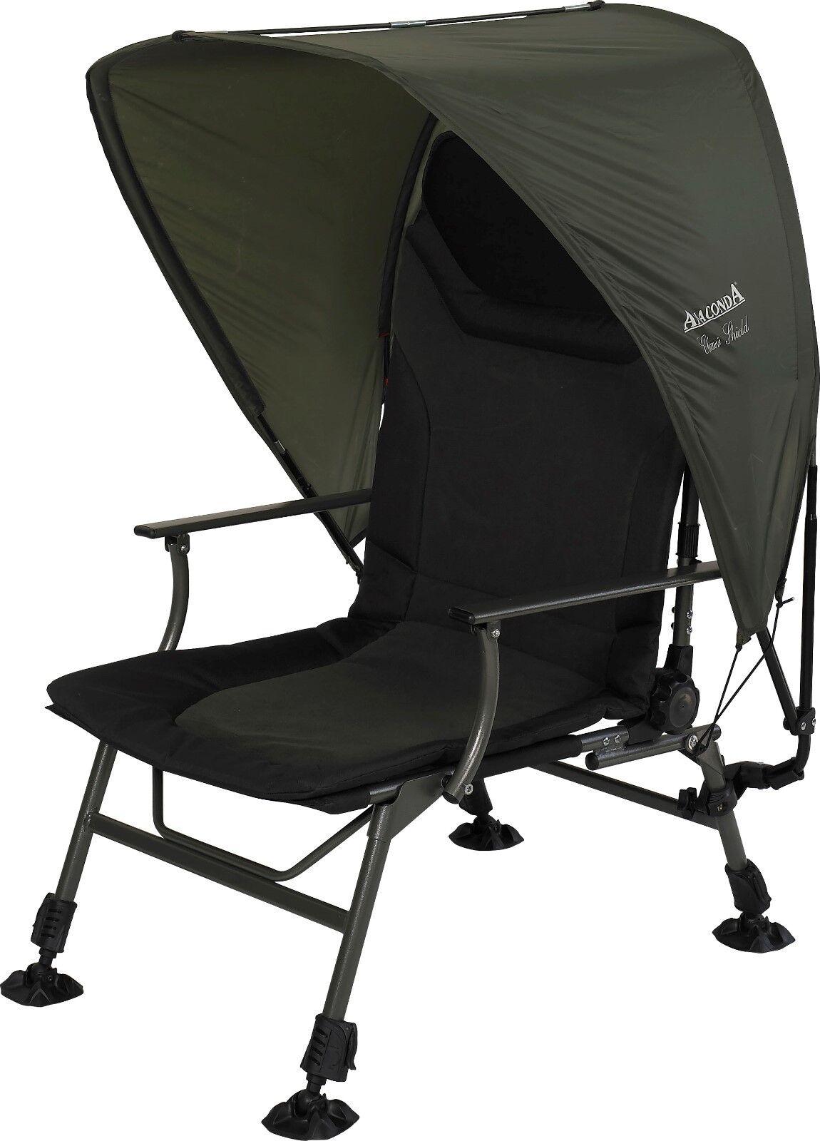 Ohne Stuhl Anaconda  Chair Shield  Sonnenschutz für Angelstuhl Campingstuhl 571