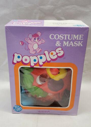 Vintage Ben Cooper Popples Halloween  Costume And Mask 1986