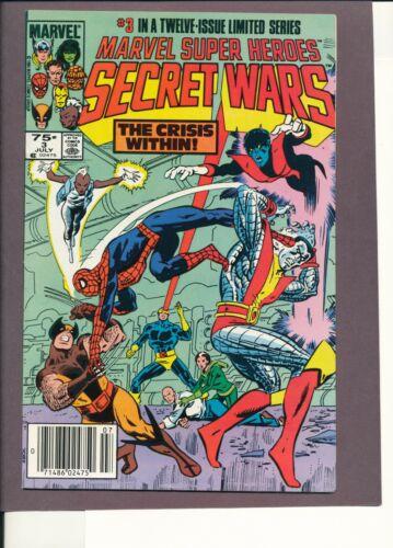 Marvel Super Heroes Secret Wars 3 1st Titania & Volcana She- Hulk TV Show NM