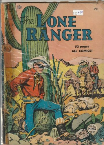 1950 Dell TV comic, Lone Ranger #22