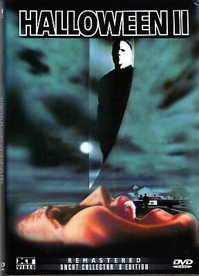 Halloween 2 , small Hardbox Release , uncut , NEW , Jamie Lee Curtis (Halloween 2 1981 Uncut Dvd)
