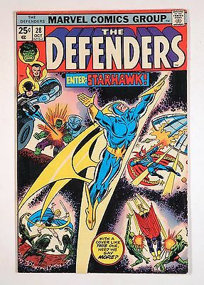 Defenders #28 1975 -- 1st Starhawk, Guardians of the Galaxy