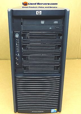 HP ML350 G6 Tower Virtualization Server 2 X  QC 2.4GHz 64GB 8x 146gb 10k SAS