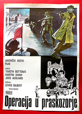 OPERATION: DAYBREAK 1975 TIMOTHY BOTTOMS MARTIN SHAW J.ACKLAND EXYU MOVIE POSTER