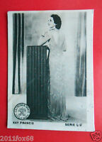Figurines Actors Akteurs Figurine Cigarettes Cards Cia Tabacos L-3 Kay Francis V -  - ebay.it