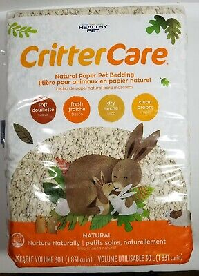 Healthy Pet Critter Care Natural Paper Pet Bedding, Made in the USA