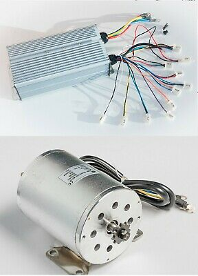 Boma 2500w 60v Bldc Electric Motor W Base Bm1024 W 70a Controller Gokart Scooter