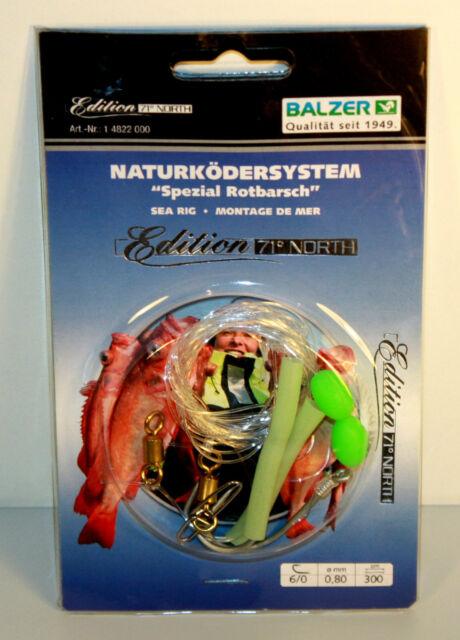 Balzer Naturködersystem Spezial Rotbarsch System Edition 71° North 4822000 NEW