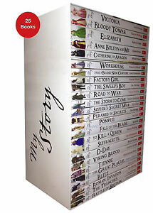 My Royal Story 25 Books Set - The Complete Collection in Box Gift Pack Brand New