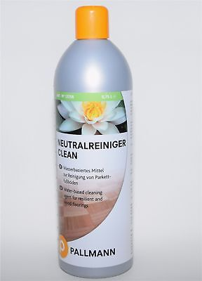 Pallmann Clean Neutralreiniger 0,75l Allzweckreiniger für Parkettböden, Linoleum