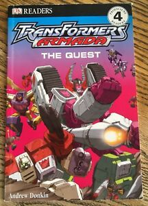 DK READERS TRANSFORMERS ARMADA THÉ QUEST 2003