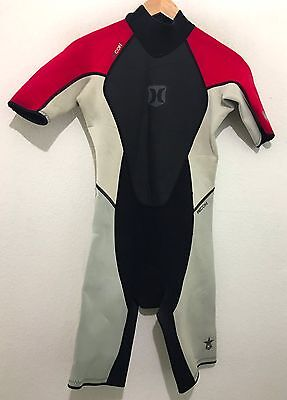 Hurley Mens Spring Shorty Wetsuit Recon 2/2 Size Small S