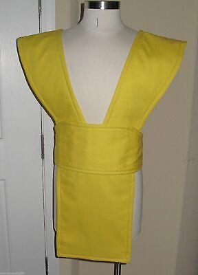 Cosplay Yellow Scorpion Mortal Kombat Ninja Twill Cotton tabard vest & sash - Scorpion Cosplay Kostüm