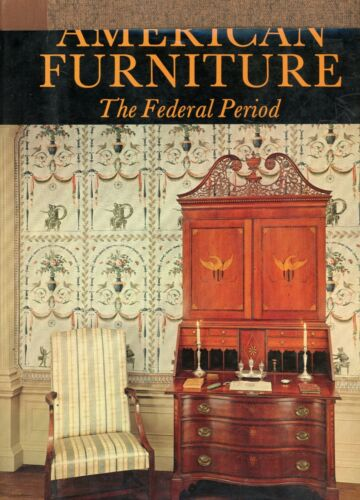 Antique American Federal Furniture - Types Makers Marks / Scarce In-Depth Book