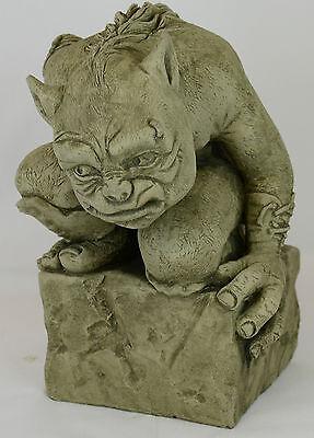 Rex-Garden Ornament-Gargoyle-Sculpture-Stone Statue-Home Patio-Decorative Gift