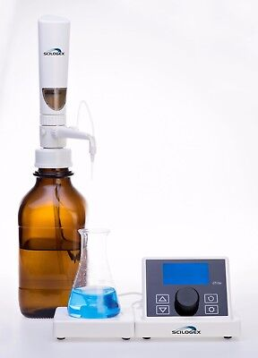 (NEW ! SCILOGEX iTrite Electronic Digital Motorized Bottletop Burette, 73130105)