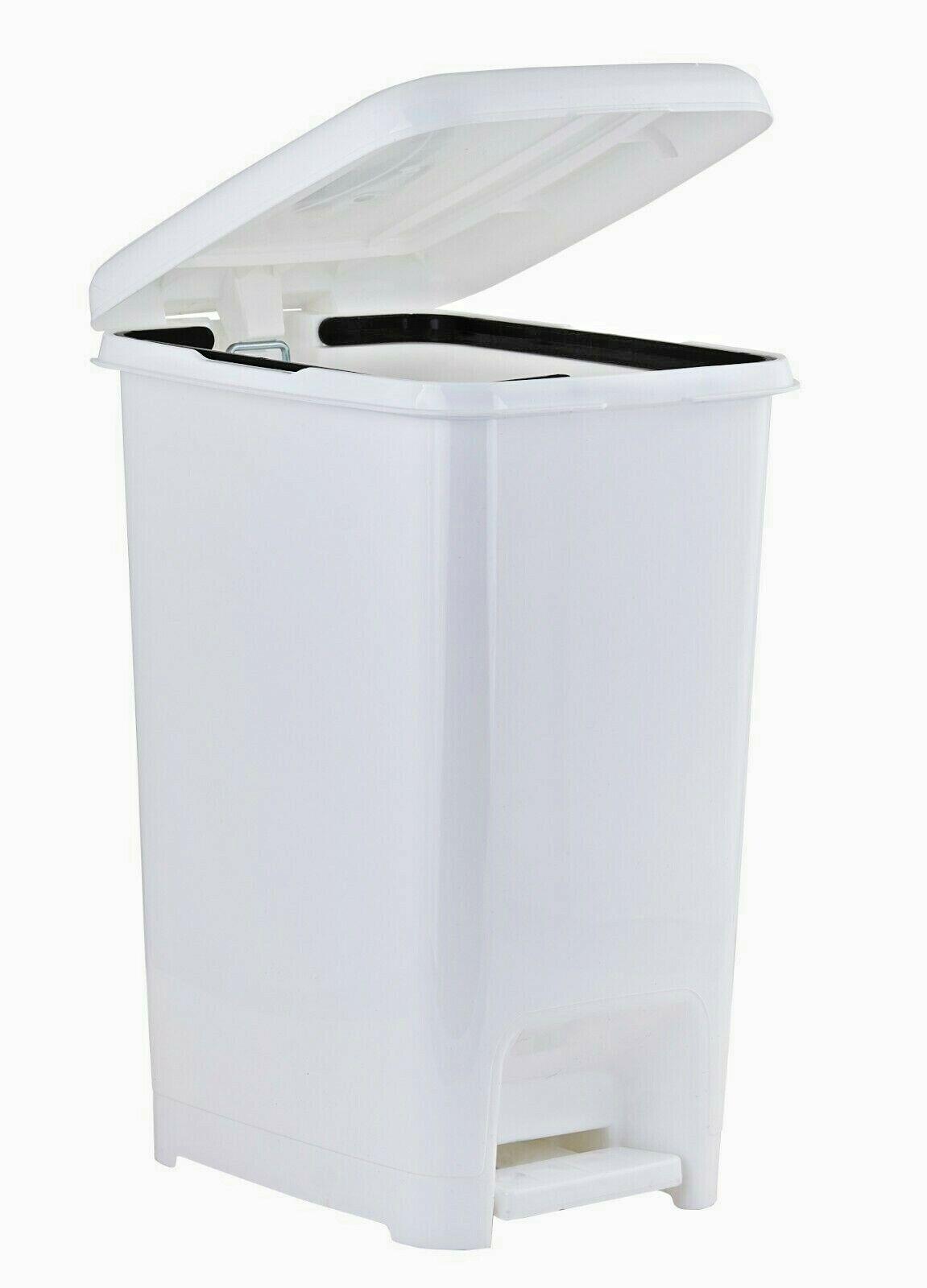 trash can waste basket step on slim