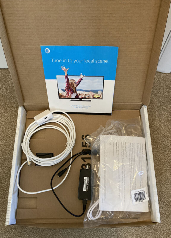 AT&T DirecTV Local Channel Connector Kit Missing LCC Power Adapter